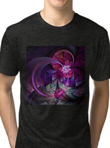Fly - Abstract Fractal Artwork Tri-blend T-Shirt