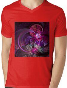 Fly - Abstract Fractal Artwork Mens V-Neck T-Shirt