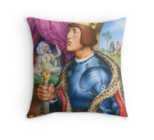 The young king Throw Pillow