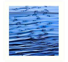 Paperwaves Art Print