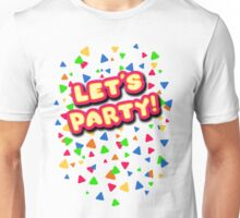 Five Nights at Freddy's - FNAF - Let's Party - Toy Chica Unisex T-Shirt