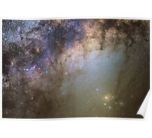 Rho Ophiuchi wide-field Poster