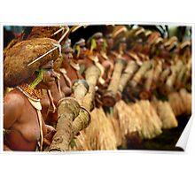 PNG Warrrior Women Poster