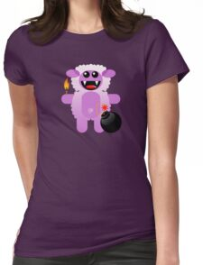 SHEEP 4 (Cute pet has a bomb and its alight!) Womens Fitted T-Shirt