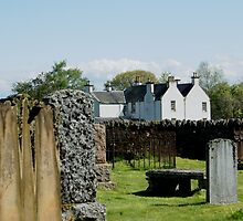 Contin, Ross-shire, UK, the old C18th manse by BronReid