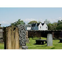 Contin, Ross-shire, UK, the old C18th manse Photographic Print