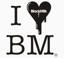 I Heart Black Milk by James Lillis
