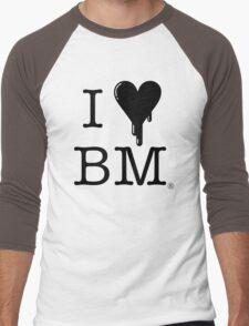 I Heart BM 2 Men's Baseball ¾ T-Shirt