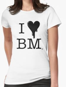 I Heart BM 2 Womens Fitted T-Shirt