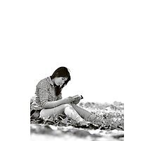 Read a Book in Nature Photographic Print