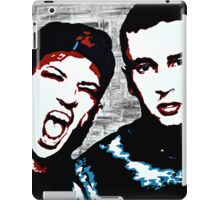 TJ + JD Painting - Original background iPad Case/Skin