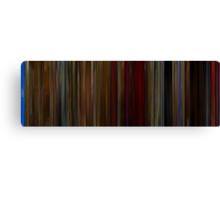 Moviebarcode: Twin Peaks Fire Walk with Me (1992) Canvas Print