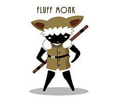 Fluff Monk by FireflyMoon