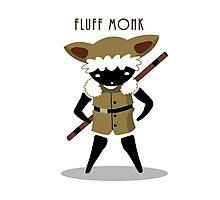 Fluff Monk Photographic Print
