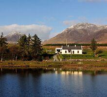 House in the Prairie, Connemara, Ireland by JoeTravers