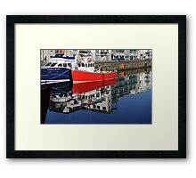 Galway Harbour, Galway, Ireland Framed Print