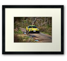 Targa West 2011 - Car 91 - Photo 1 Framed Print