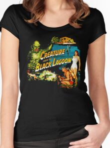 Black Lagoon Women's Fitted Scoop T-Shirt