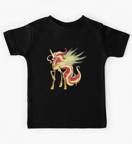 My Little Pony - MLP - Sunset Shimmer Alicorn Kids Tee