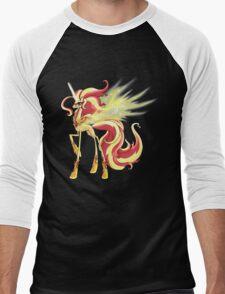 My Little Pony - MLP - Sunset Shimmer Alicorn Men's Baseball ¾ T-Shirt