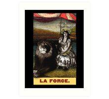 Circus Tarot: Strength Art Print