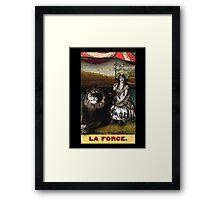 Circus Tarot: Strength Framed Print