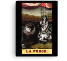Circus Tarot: Strength Canvas Print
