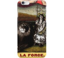 Circus Tarot: Strength iPhone Case/Skin