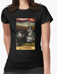 Circus Tarot: Strength Womens Fitted T-Shirt