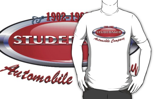 Studebaker  badge T Shirt  by DocMiguel