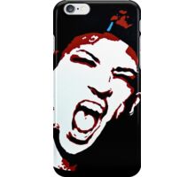 TJ + JD Painting - Black Background iPhone Case/Skin