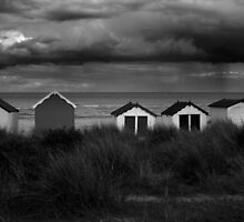 SOUTHWOLD BEACH by Redtempa