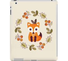 Little Fox with Autumn Berries iPad Case/Skin