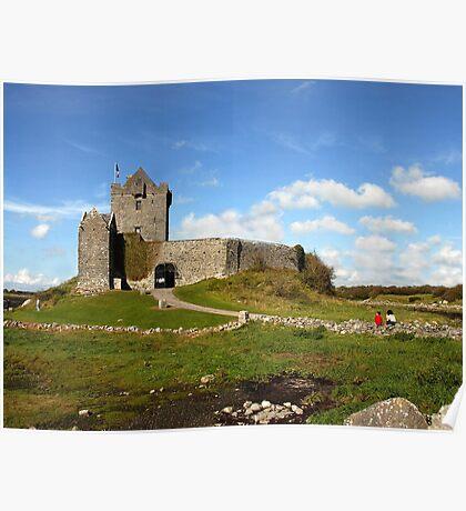 Dunguaire Castle, Kinvara, Ireland. Poster