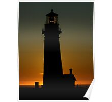 Yaquina Head Lighthouse ~ Part One Poster