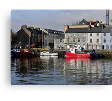 Galway Harbour, Ireland. Canvas Print