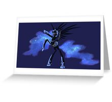 My Little Pony - MLP - FNAF - Nightmare Moon Animatronic Greeting Card