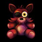 Five Nights at Freddy's - Fnaf 4 - Foxy Plush by Kaiserin