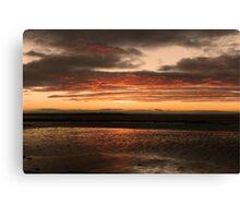 Sunrise over Galway Bay, Ireland. Canvas Print