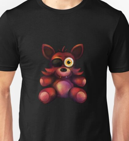 Five Nights at Freddy's - Fnaf 4 - Foxy Plush Unisex T-Shirt