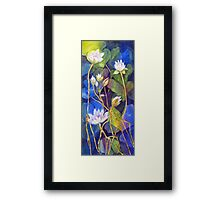 Pond Dancers Framed Print