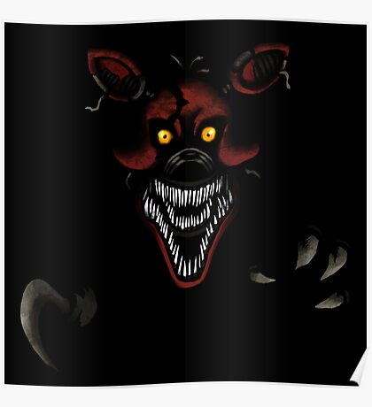 Five Nights at Freddy's - Fnaf 4 - Nightmare Foxy Poster