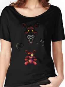 Five Nights at Freddy's - Fnaf 4 - Nightmare Foxy Plush Women's Relaxed Fit T-Shirt