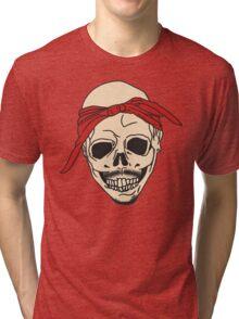 Tupac Skull Tri-blend T-Shirt
