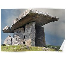 Dolmen, County Clare, Ireland. Poster