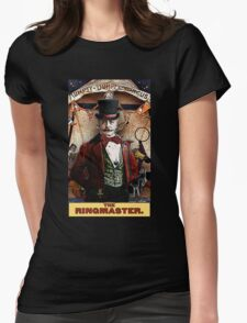 The Ringmaster: Circus Tarot by Duck Soup Productions Womens Fitted T-Shirt