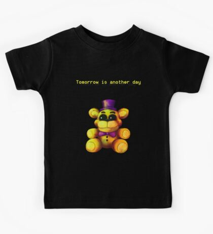 Five Nights at Freddy's - FNaF 4 - Tomorrow is Another Day Kids Tee