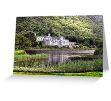 Kylemore Abbey, Connemara, Ireland. Greeting Card