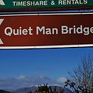 Quiet Man Sign Post. by JoeTravers