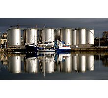 Oil Tanks,  Photographic Print